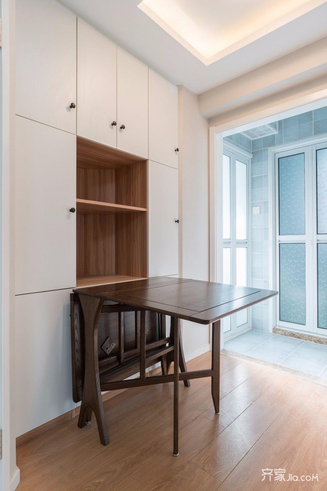 小户型简约一居室餐厅装修设计图