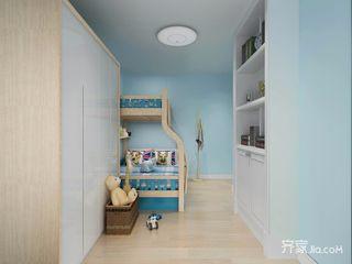 70㎡简约风格两居儿童房装修效果图
