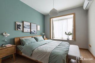 小户型北欧风一居卧室装修效果图