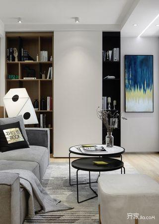 小户型简约风格二居装修设计图