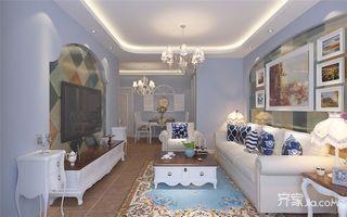 地中海风格两居装修效果图