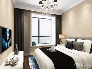 现代风格两居卧室装修效果图