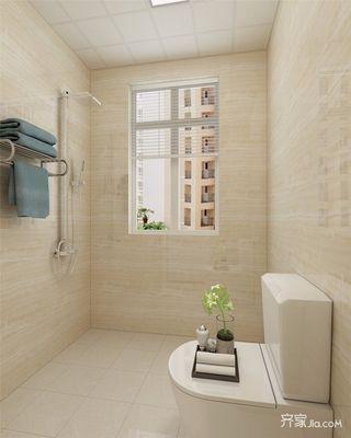 50平简约风格一居卫生间装修效果图