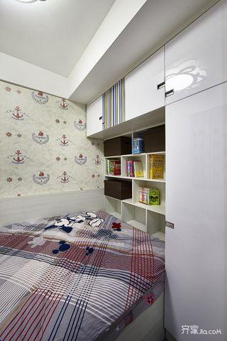 89平现代简约风三居装修榻榻米设计图
