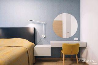 极简风格三居卧室装修效果图