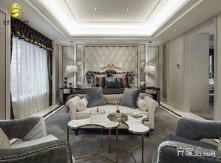 轻奢法式别墅卧室装修效果图