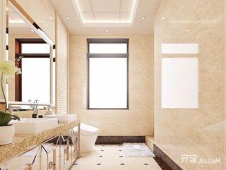 欧式风格两居室卫生间每日首存送20