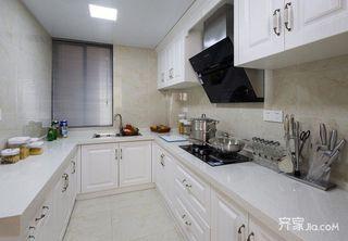 120平简欧三居室厨房装修效果图