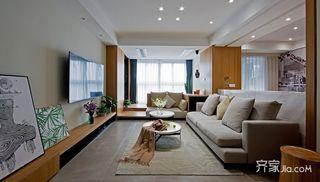 89平现代简约两居装修效果图
