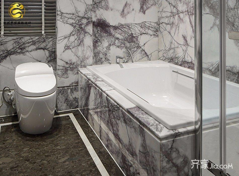 古典中式风格别墅卫生间装修效果图