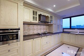 新古典风格四居厨房装修效果图