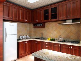 130平米中式三居厨房装修效果图