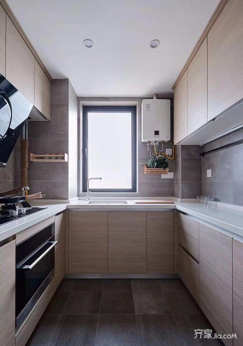 110㎡混搭风格二居厨房装修效果图