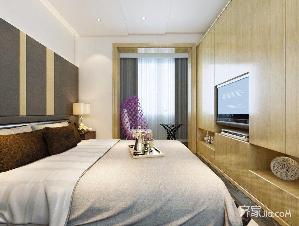 60㎡现代简约风格卧室装修效果图