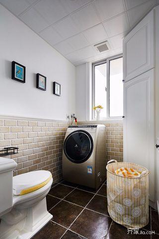 90平现代简约二居室卫生间装修效果图