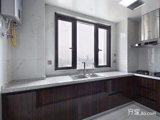 现代中式风格四居厨房装修效果图