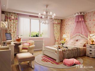 大户型欧式风格三居儿童房装修效果图
