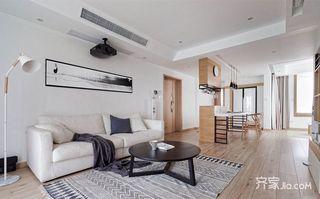 110平日式风格二居装修效果图