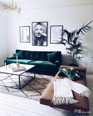 小户型混搭一居室装修效果图