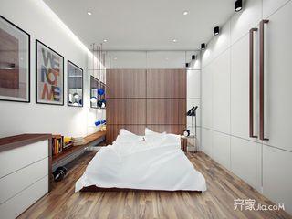 小户型一居公寓卧室装修效果图