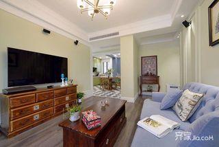 混搭风格两居室装修设计效果图