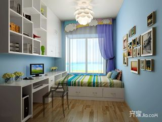 现代风格四居室儿童房装修效果图