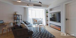 130平简约三居室装修设计图