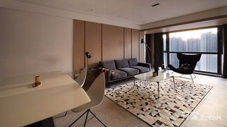 极简风格三居装修设计效果图