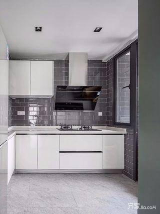 90㎡北欧风格两居厨房装修效果图