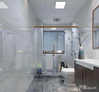 130平米现代风格卫生间装修效果图