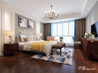 140平美式风格四居卧室装修设计图