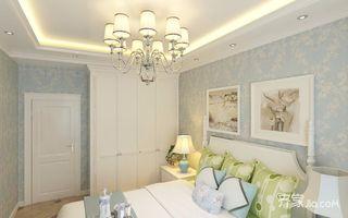 110㎡地中海二居卧室装修效果图
