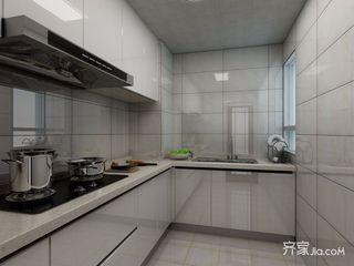 98平混搭风格三居厨房装修效果图