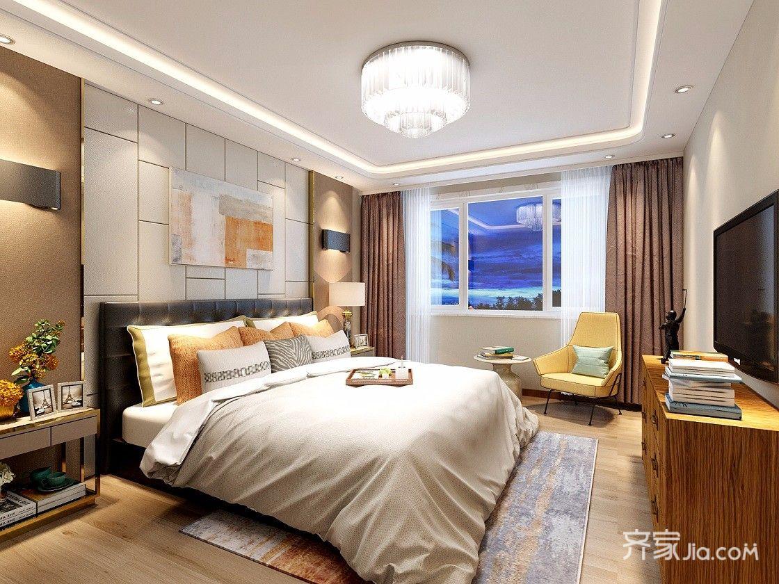 新古典风格四居卧室装修设计图