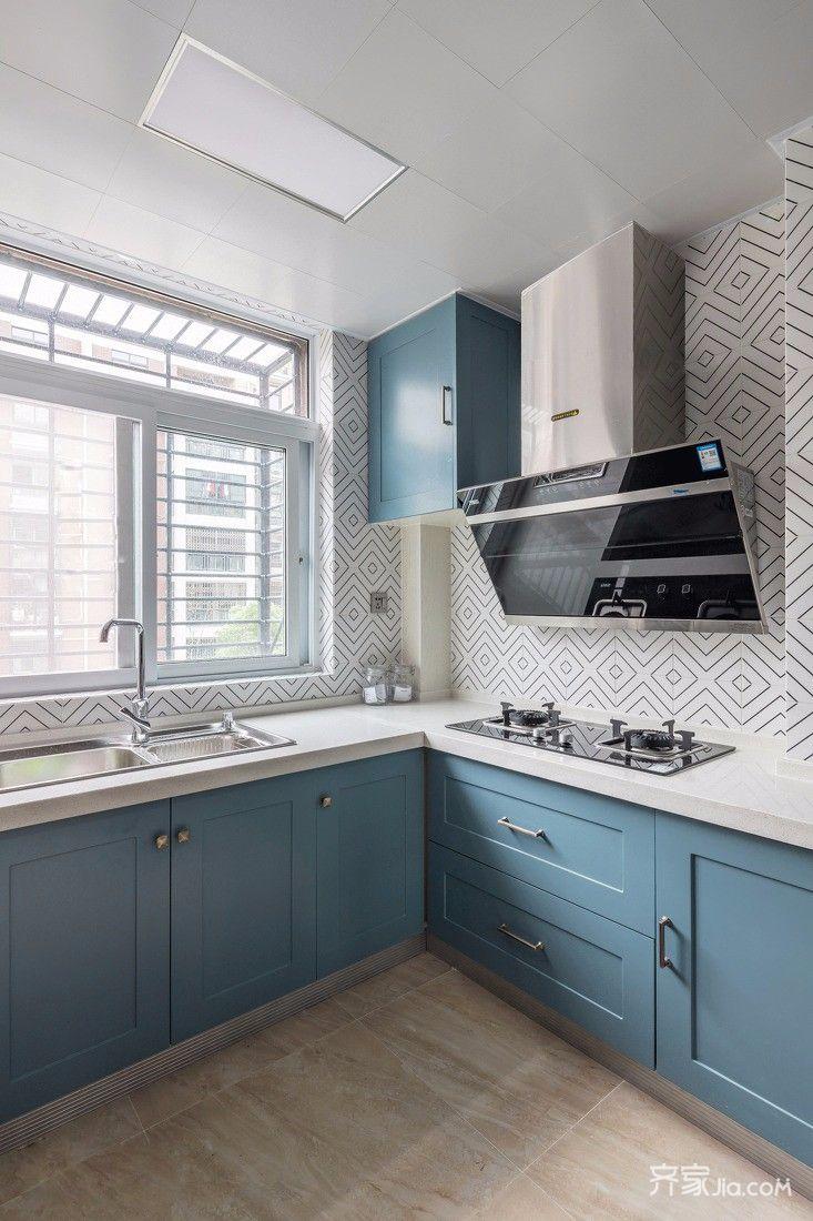 150㎡欧式风格四居厨房装修效果图