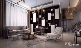 混搭风格别墅客厅装修效果图