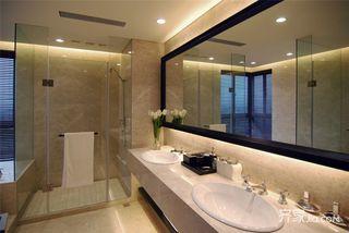 混搭风格别墅卫生间装修效果图