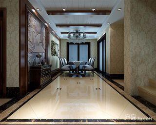 180平米欧式复式装修餐厅效果图