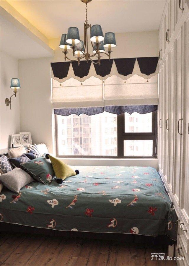 小户型地中海风两居卧室装修设计图