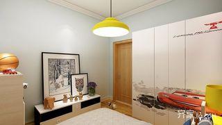 北欧风格三居室装修吊灯设计图