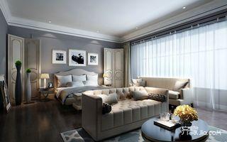 欧式别墅装修卧室设计效果图