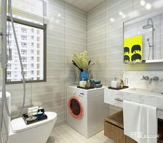 现代简约风两居室卫生间装修效果图