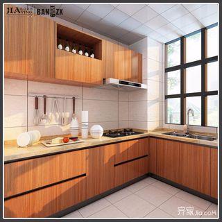123平美式风格三居厨房装修效果图