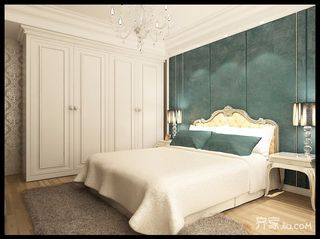 古典欧式别墅卧室装修效果图