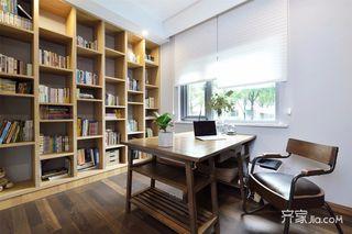 160平现代混搭装修书房效果图