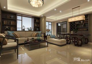 145㎡新中式三居装修效果图