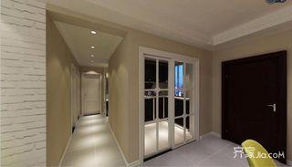 90平北欧风格两居走廊装修效果图