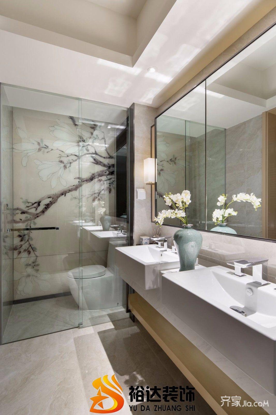 简约风格复式公寓卫生间装修效果图
