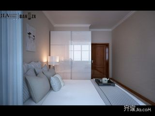 两居室现代简约风格装修衣柜效果图