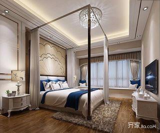 新古典混搭风三居卧室装修效果图